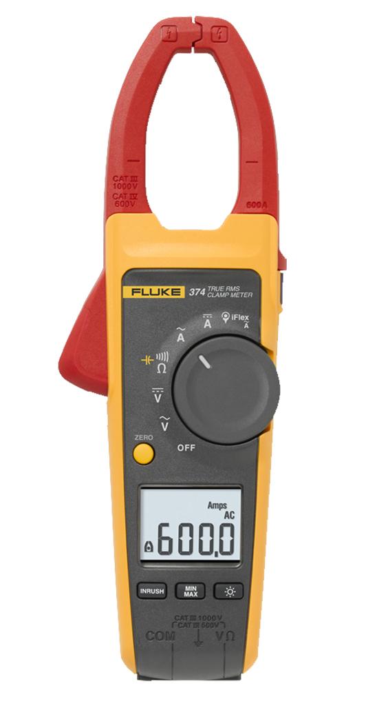 True Rms Clamp Meter : Fluke true rms ac dc clamp meter
