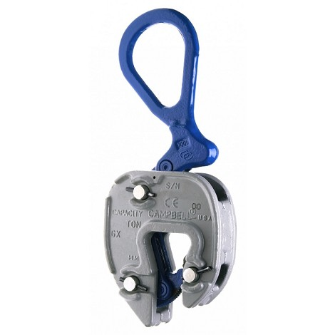 "Plate Clamp 1/2 ton GX (1/16""-5/8"")"