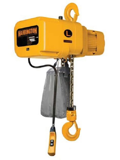 Electric Hoist 2 Ton, 20' Lift (3 phase, 28 ft/min)