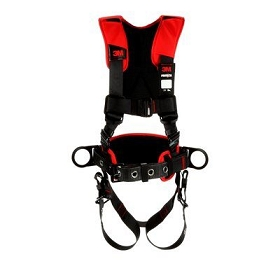 3M™ Protecta® Comfort Construction Style Positioning Harness, Black, Medium/Large