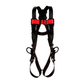 3M™ Protecta® Vest-Style Positioning Harness, Black, Medium/Large