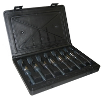 Drill Bit Set 8 pc. Silver & Deming 9/16