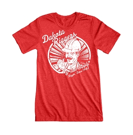 Dakota Riggers Thumbs Up T-Shirt (Red)