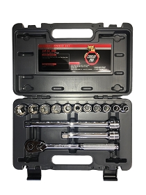 Cougar Metric Socket Set, 1/2