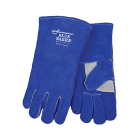 Blue Sabre® Premium Cowhide Welding Gloves