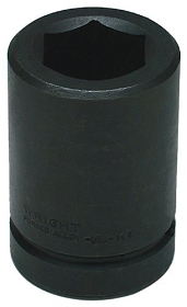 Wright Tool SAE Deep 6 Point Impact Socket, 1/2