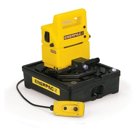 Enerpac 2-Speed Economy 115V Electric Pump, Solenoid Valve