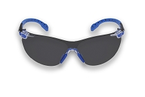 3M™ Solus™ 1000-Series Safety Glasses, Black/Blue, Grey Scotchgard™ Anti-Fog Lens