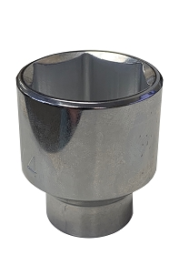 Wright Tool SAE 6 Point Chrome Socket, 1/2