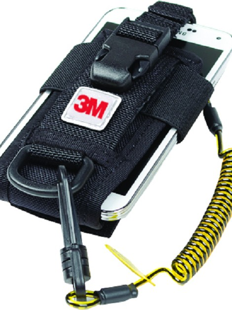 3M™ DBI-SALA® Adjustable Radio/Cell Phone Holster with Clip2Loop Coil and Micro D-Ring