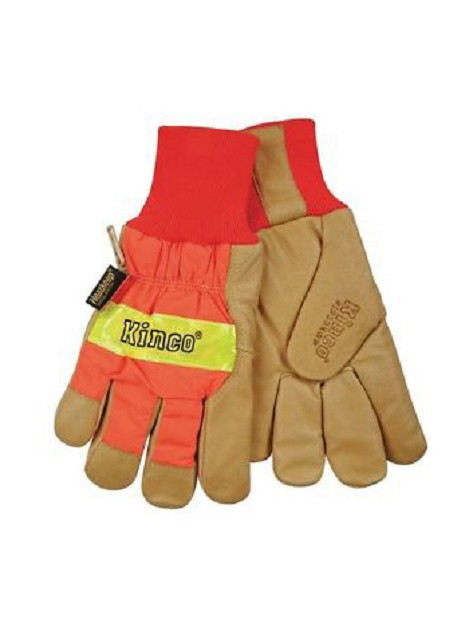 Kinco Hydroflector™ Lined Hi-Viz Waterproof Gloves