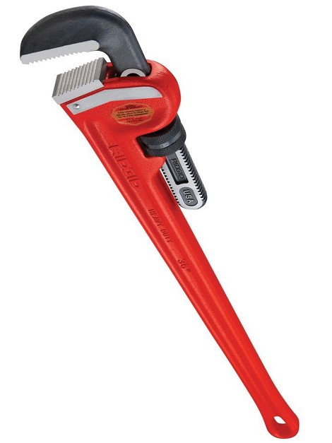 Ridgid® Heavy-Duty Steel Pipe Wrench