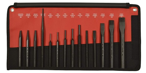 24 Pc. Punch & Chisel Set (Mayhew)