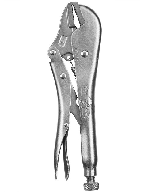 Vise Grip Pliers Straight Jaw 7""