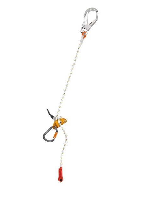 Petzl 2 Meter Grillon Adjustable Lanyard w/Hook & Carabiner