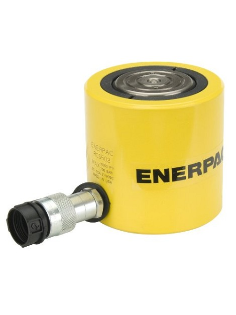 "Enerpac 32.4 Ton Low Height Cylinder, 2.44"" Stroke"